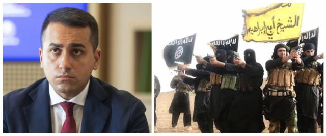 Di Maio nel mirino dell'Isis