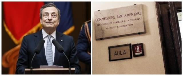 Draghi, comissione vigilanza Rai