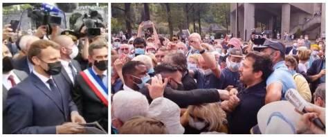Macron Lourdes