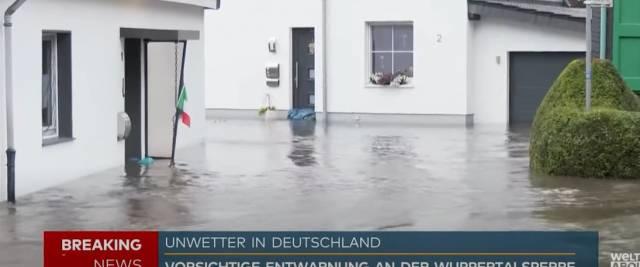 alluvione germania
