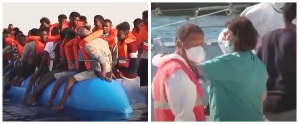 Lampedusa sbarchi