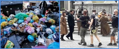 rifiuti Roma cinema