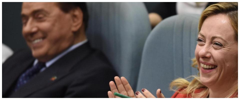 Berlusconi Meloni