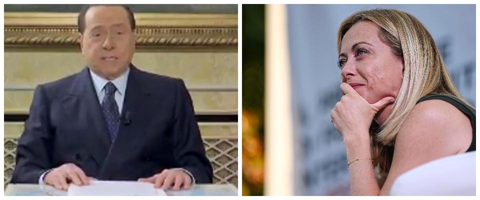 Berlusconi Rai, Meloni