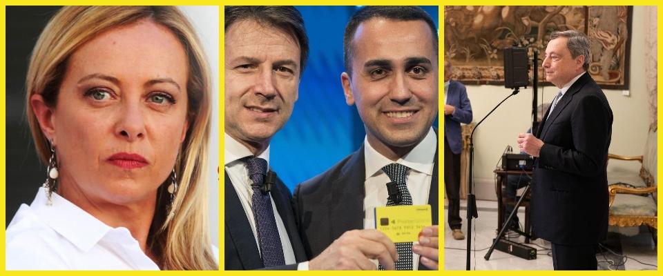 Draghi reddito cittadinanza