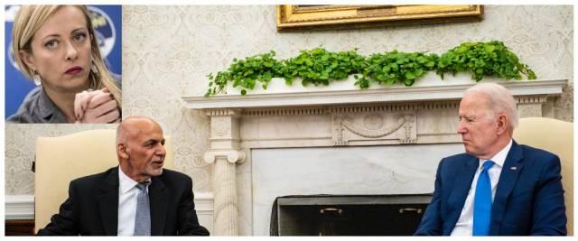 Ghani con Biden