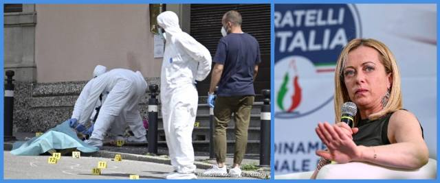 Bergamo ucciso in strada
