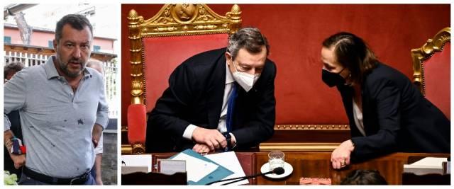 Salvini, Lamorgrese Draghi