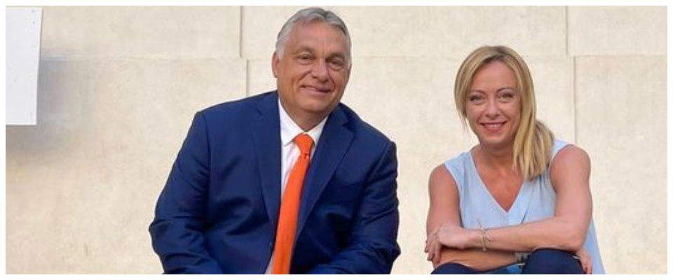 Meloni incontra Orban, la linea è chiara: «I profughi afghani non devono  gravare sull'Europa» - Secolo d'Italia