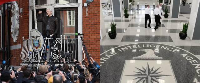Assange, Cia