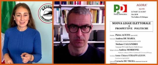Andrea Morrone, il docente rosso