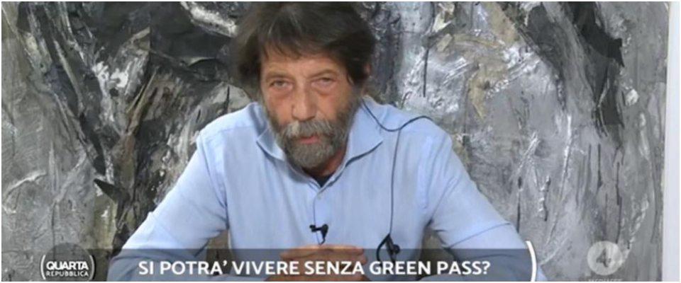 Cacciari Quarta Repubblica, green pass