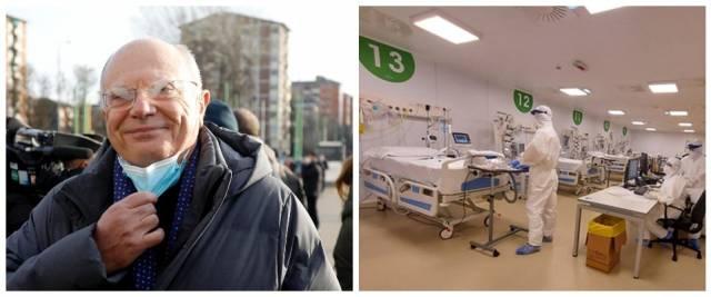Massimo Galli, ospedale Fiera Milano