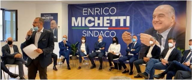 Michetti, candidati centrodestra