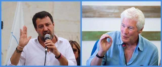 Richard Gere Salvini Open Arms