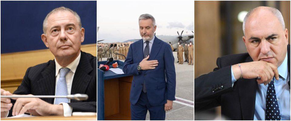 Adolfo Urso, Lorenzo Guerini, Guido Crosetto