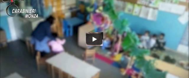 Asilo con maltrattamenti ai bambini
