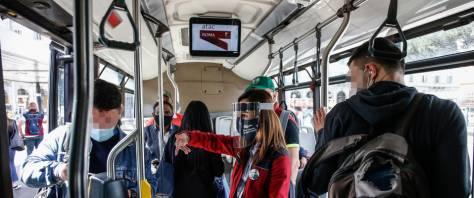 autobus mascherine Ffp2