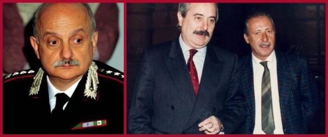 generale Mori, Falcone Borsellino