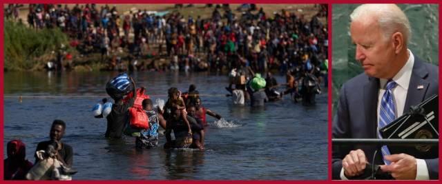 migranti Texas
