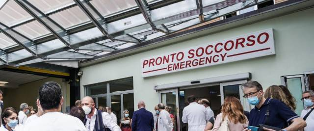 ospedale green pass, modena