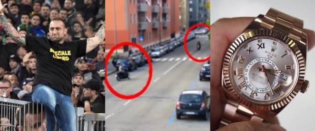 ultras Napoli, banda Rolex