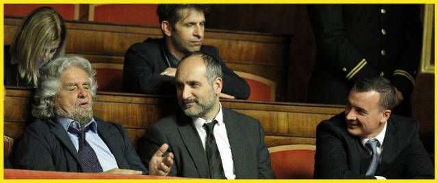 Grillo, Claudio Messora, Casalino