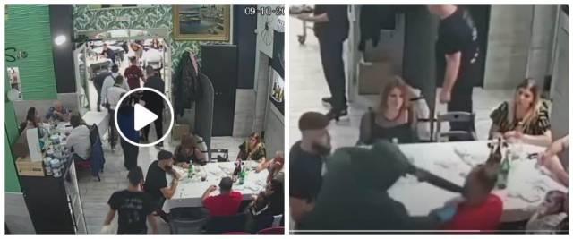 pizzeria Casavatore, rapina